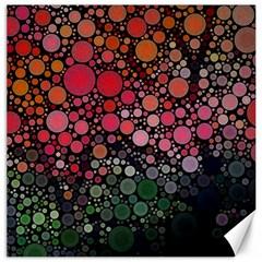 Circle Abstract Canvas 20  X 20