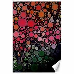 Circle Abstract Canvas 20  X 30