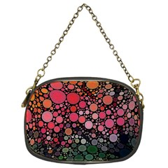 Circle Abstract Chain Purses (two Sides)