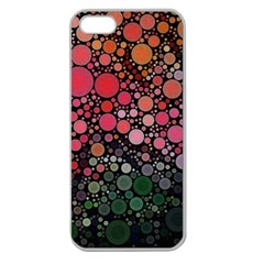 Circle Abstract Apple Seamless Iphone 5 Case (clear)