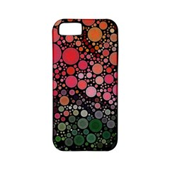 Circle Abstract Apple Iphone 5 Classic Hardshell Case (pc+silicone)