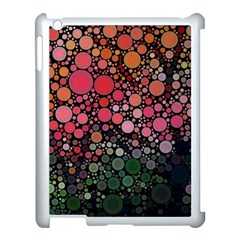 Circle Abstract Apple Ipad 3/4 Case (white)