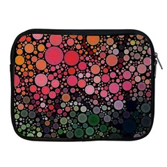 Circle Abstract Apple Ipad 2/3/4 Zipper Cases