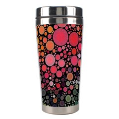 Circle Abstract Stainless Steel Travel Tumblers