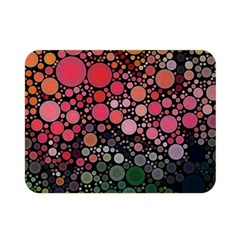Circle Abstract Double Sided Flano Blanket (mini)