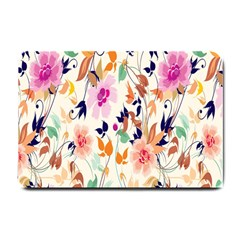 Vector Floral Art Small Doormat