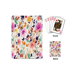 Vector Floral Art Playing Cards (mini)