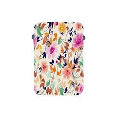 Vector Floral Art Apple Ipad Mini Protective Soft Cases