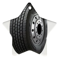 Tire Ornament (star)
