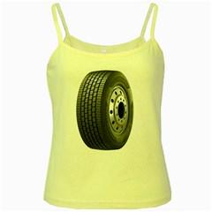 Tire Yellow Spaghetti Tank