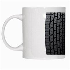 Tire White Mugs