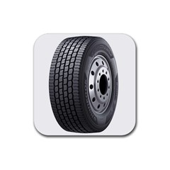 Tire Rubber Square Coaster (4 Pack)