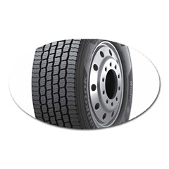 Tire Oval Magnet