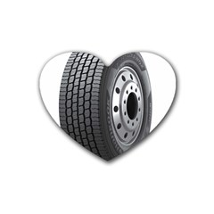 Tire Heart Coaster (4 Pack)
