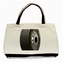 Tire Basic Tote Bag (two Sides)