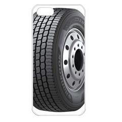 Tire Apple Iphone 5 Seamless Case (white)
