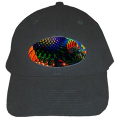 Colored Fractal Black Cap