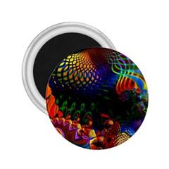 Colored Fractal 2 25  Magnets