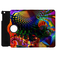 Colored Fractal Apple Ipad Mini Flip 360 Case