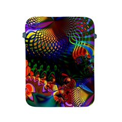 Colored Fractal Apple Ipad 2/3/4 Protective Soft Cases