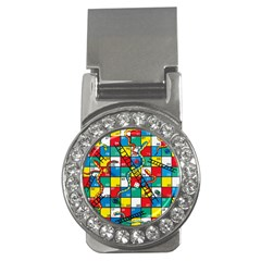 Snakes And Ladders Money Clips (cz)