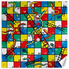 Snakes And Ladders Canvas 12  X 12