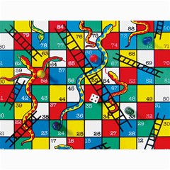 Snakes And Ladders Canvas 12  X 16