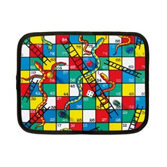 Snakes And Ladders Netbook Case (small)