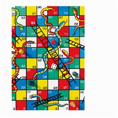Snakes And Ladders Large Garden Flag (two Sides)