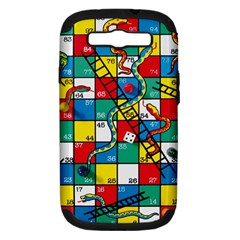 Snakes And Ladders Samsung Galaxy S Iii Hardshell Case (pc+silicone)