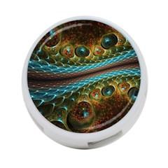 Fractal Snake Skin 4 Port Usb Hub (two Sides)