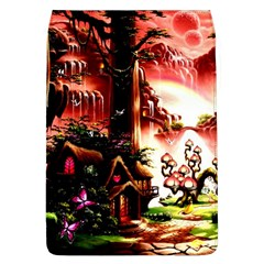 Fantasy Art Story Lodge Girl Rabbits Flowers Flap Covers (l)