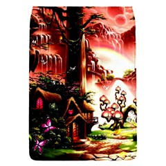 Fantasy Art Story Lodge Girl Rabbits Flowers Flap Covers (s)