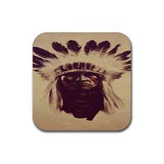 Indian Rubber Square Coaster (4 Pack)