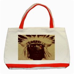Indian Classic Tote Bag (red)