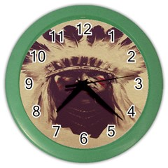 Indian Color Wall Clocks