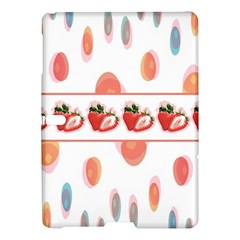 Strawberries Samsung Galaxy Tab S (10 5 ) Hardshell Case