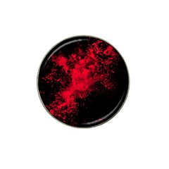 Red Smoke Hat Clip Ball Marker (4 Pack)