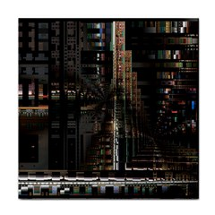 Blacktechnology Circuit Board Electronic Computer Tile Coasters