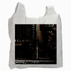 Blacktechnology Circuit Board Electronic Computer Recycle Bag (one Side)