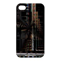 Blacktechnology Circuit Board Electronic Computer Apple Iphone 4/4s Premium Hardshell Case