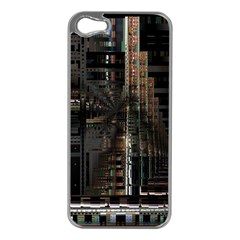Blacktechnology Circuit Board Electronic Computer Apple Iphone 5 Case (silver)