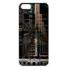Blacktechnology Circuit Board Electronic Computer Apple Iphone 5 Seamless Case (white)