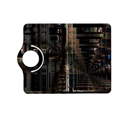 Blacktechnology Circuit Board Electronic Computer Kindle Fire Hd (2013) Flip 360 Case