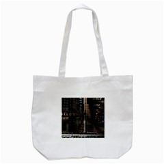 Blacktechnology Circuit Board Electronic Computer Tote Bag (white)