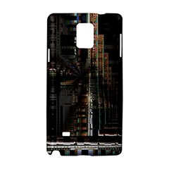 Blacktechnology Circuit Board Electronic Computer Samsung Galaxy Note 4 Hardshell Case