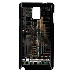 Blacktechnology Circuit Board Electronic Computer Samsung Galaxy Note 4 Case (black)