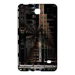 Blacktechnology Circuit Board Electronic Computer Samsung Galaxy Tab 4 (7 ) Hardshell Case
