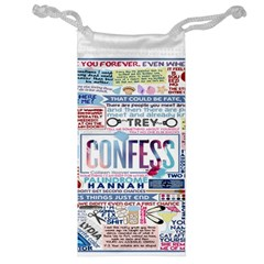 Book Collage Based On Confess Jewelry Bag