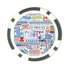 Book Collage Based On Confess Poker Chip Card Guard